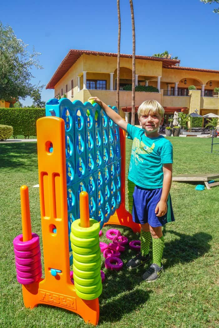 Fun Lawn Games. Looking for the fun Indian Wells resort for the family? Check out the Miramonte Resort & Spa located at the base of the Santa Rosa Mountains just minutes away from a ton of things to do in Palm Desert. Visiting Indian Wells Resort during the Summer. Fun Family friendly hotels in Palm Desert