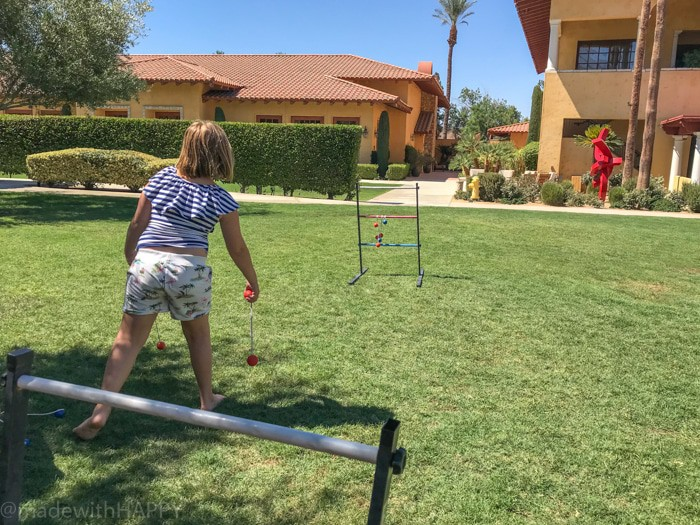 Family fun lawn games at Miramonte Resort. Looking for the fun Indian Wells resort for the family? Check out the Miramonte Resort & Spa located at the base of the Santa Rosa Mountains just minutes away from a ton of things to do in Palm Desert. Visiting Indian Wells Resort during the Summer. Fun Family friendly hotels in Palm Desert