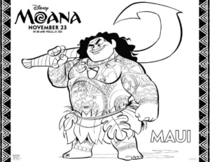 Moana Movie Coloring Pages and Activity Sheets | Moana Birthday Activities | www.madewithhappy.com