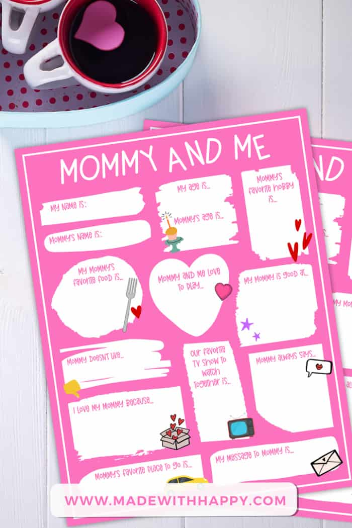 Mother's Day Printable Card