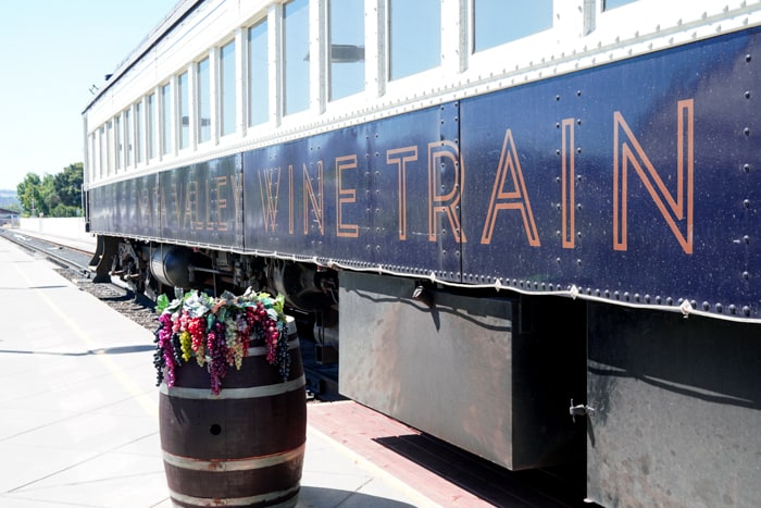 Napa Wine Train. Delicious food, wine tasting, or seeing the sights of the Napa country side, the Napa Valley Wine Train is a great way to incorporate them all.
