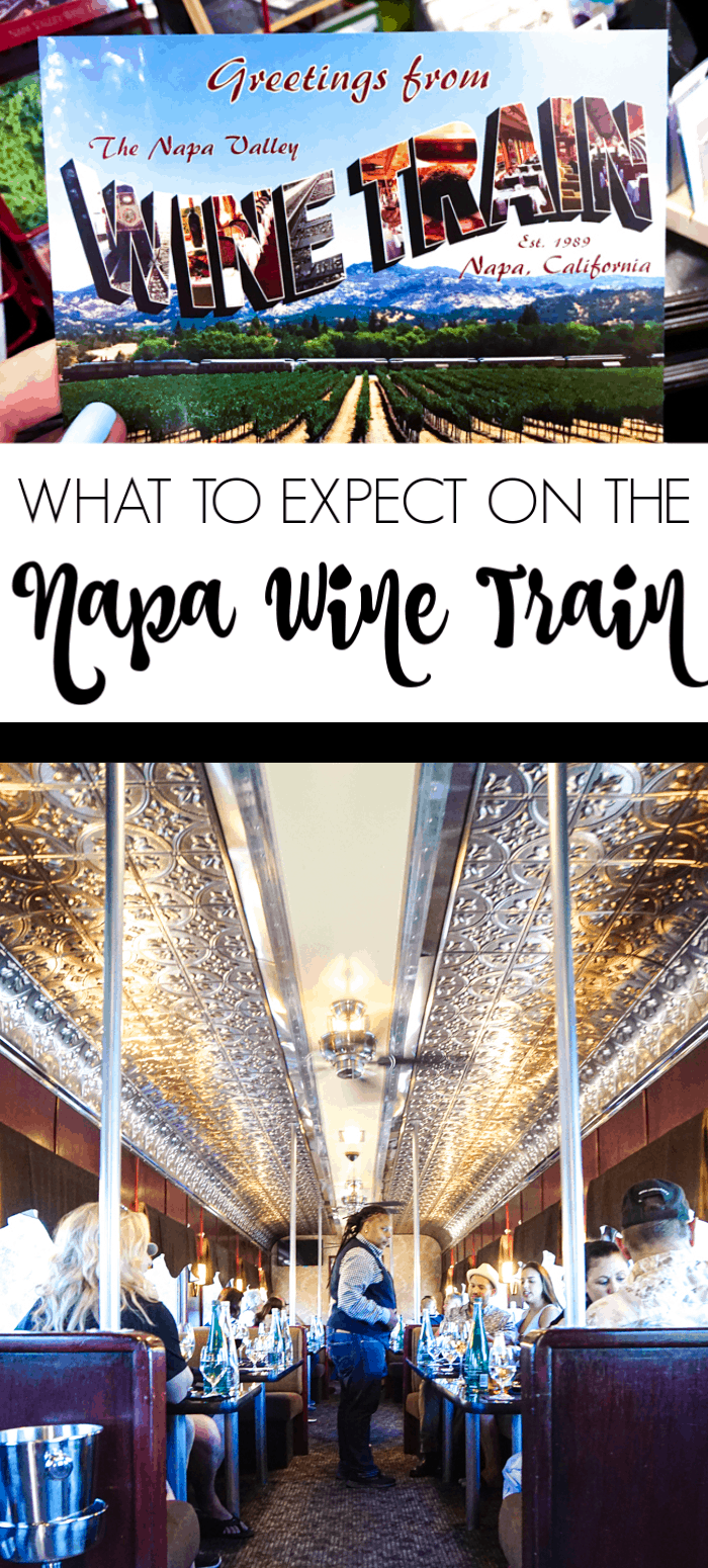 What to expect on the Napa Wine Train
