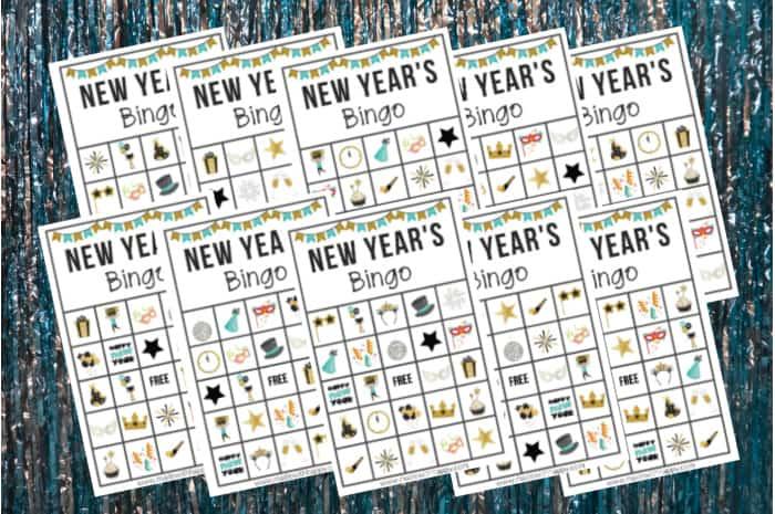 Bingo For New Years Eve