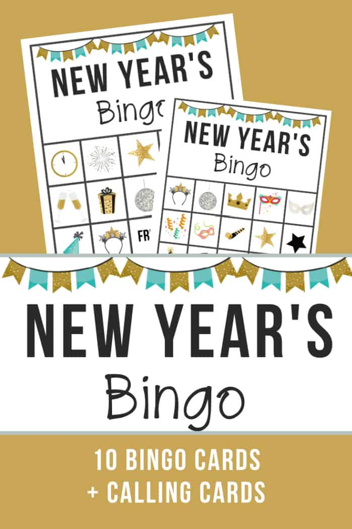 Bingo Game For New Years