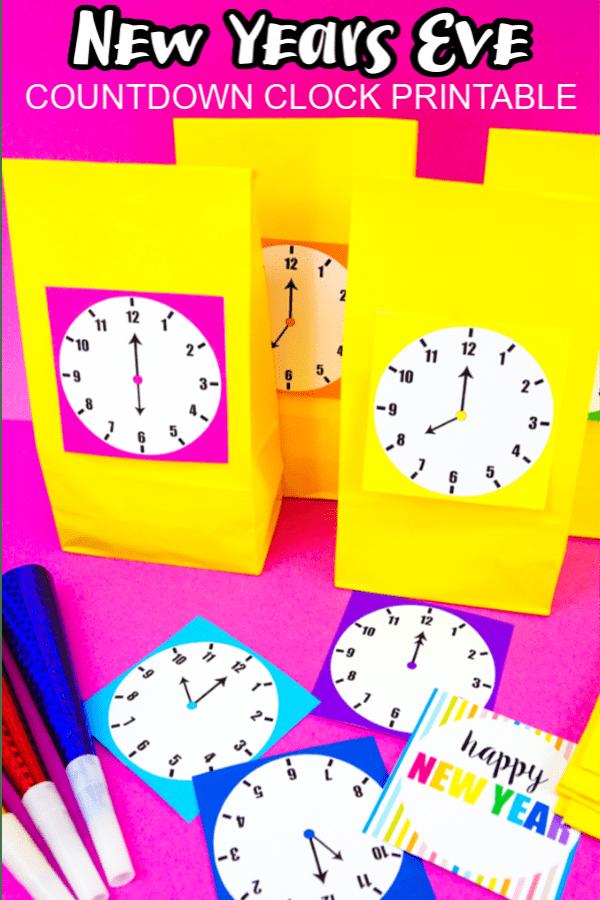 New Years Eve Countdown Clocks