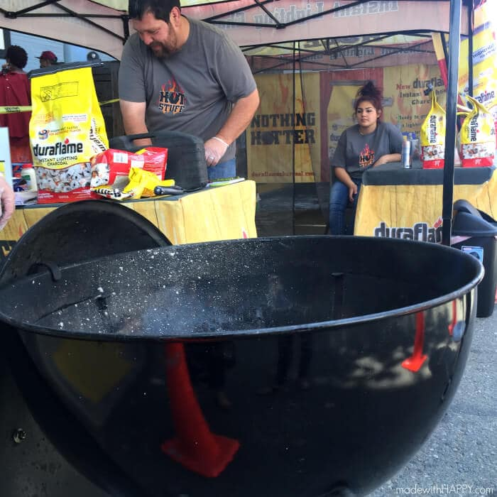 Grilled Steaks   Duraflame Instant Lighting Charcoal   Charcoal grill   Charcoal Grilled Steaks   Nothings Hotter Tour   www.madewithhappy.com