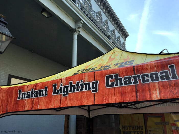 Grilled Steaks   Duraflame Instant Lighting Charcoal   Charcoal Grilled Steaks   Nothings Hotter Tour   www.madewithhappy.com