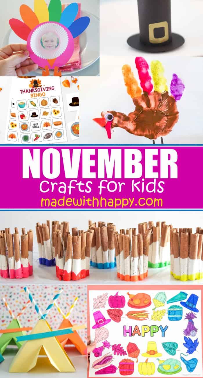 November craft kids idea
