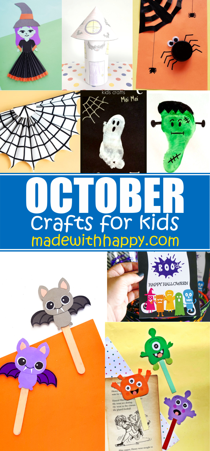 October Crafts For Kids