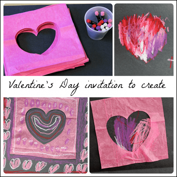 Open Ended Valentines Day Crafts for Kids