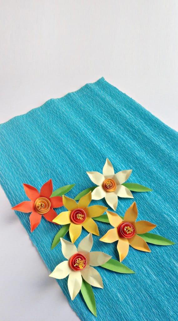 DAFFODIL PAPER FLOWERS