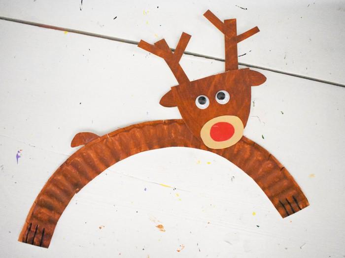 Single Reindeer Kids Craft