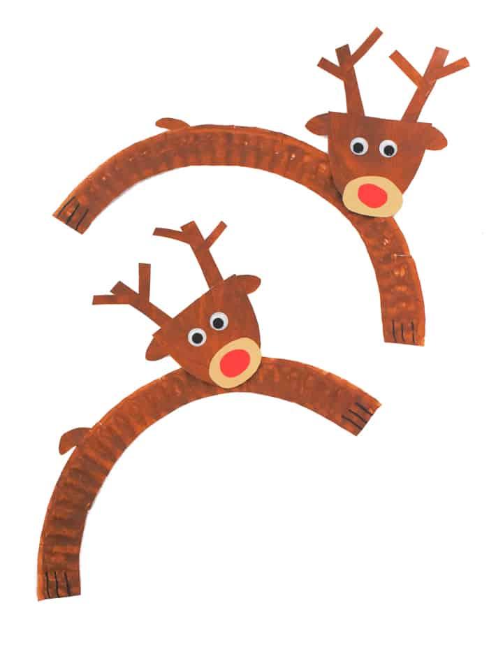Reindeer Paper Plate
