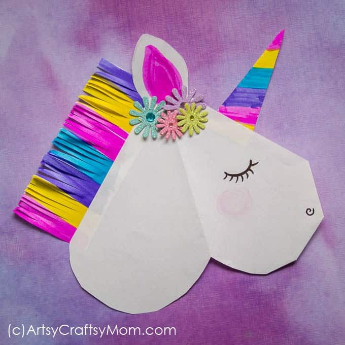 Paper Unicorn Craft