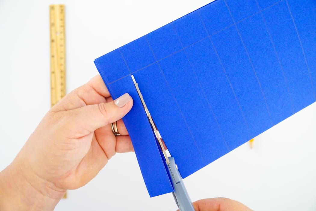how to paper weave step 7