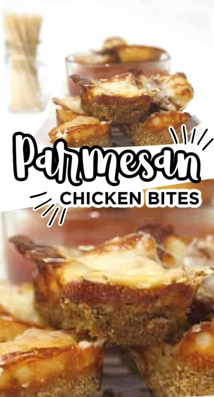 Parmesan Chicken Nugget Bites