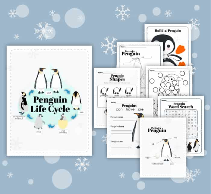 Penguin Printable Pack