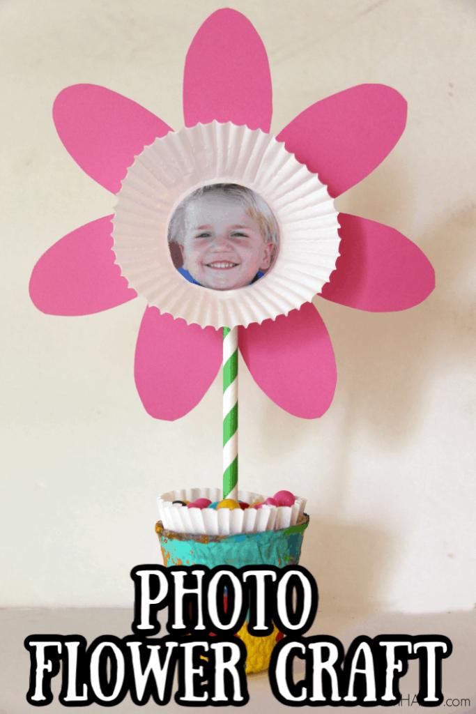 Paper Photo Flower Craft