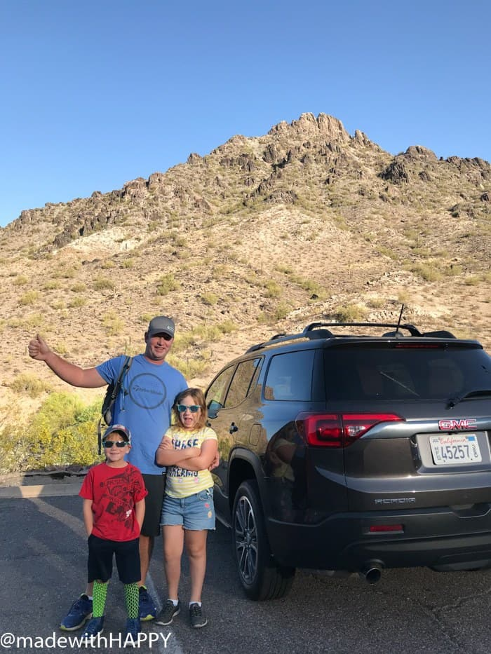 Fun things to do in Phoenix Arizona. Phoenix Arizona Attractions. Spring Break Road Trip from San Diego to Phoenix. Fun Stops from California to Arizona. #GMCAcadia