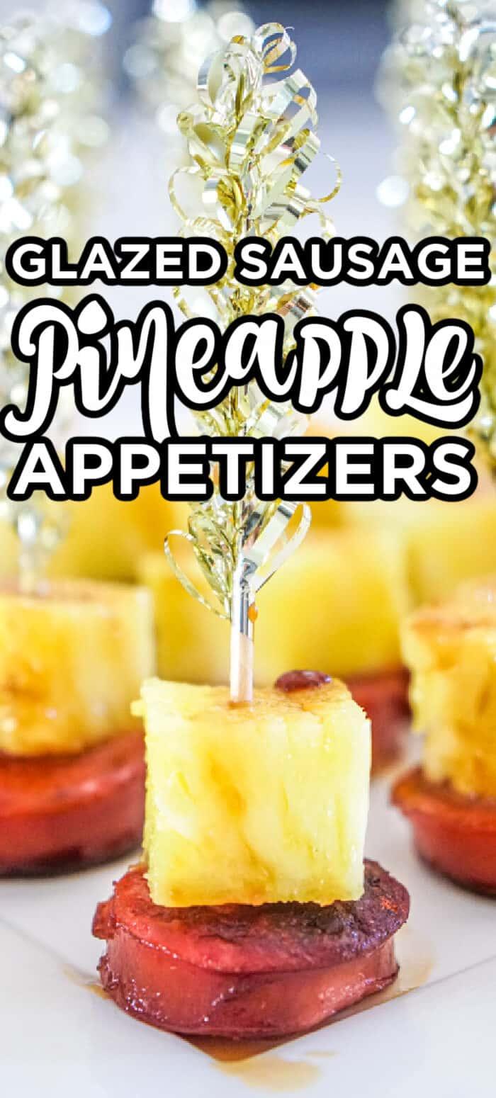 Pineapple Sausage Bites