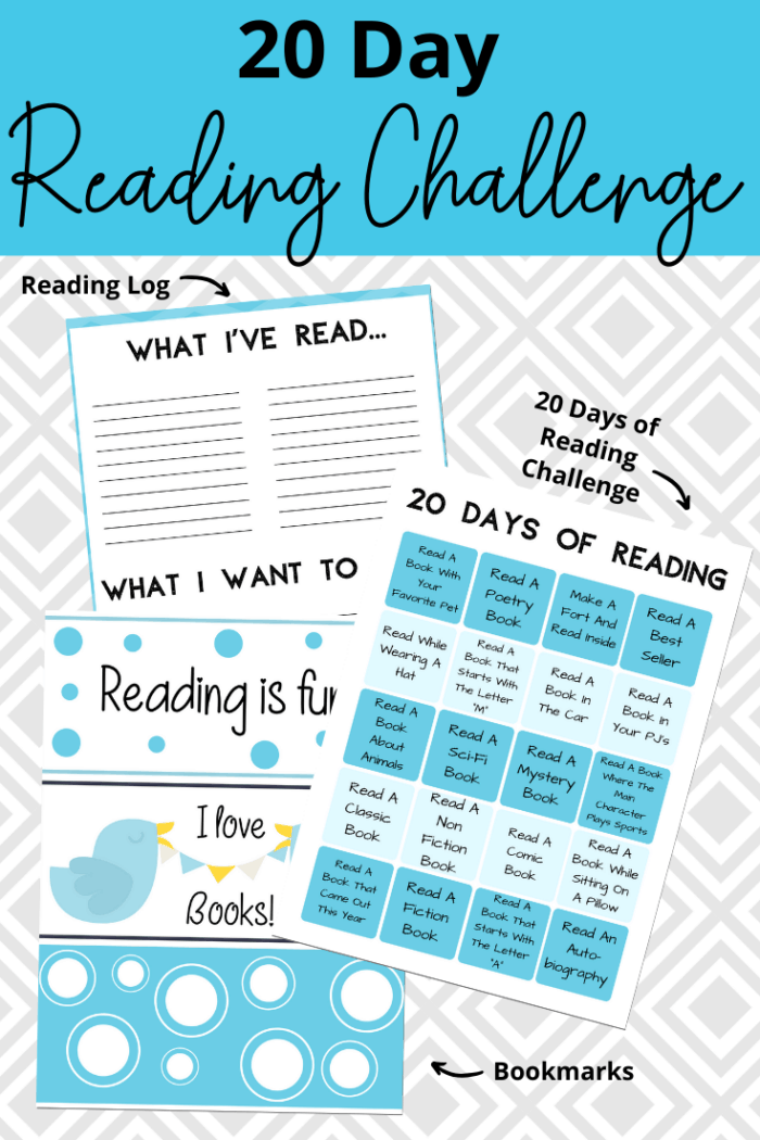 20 Day Reading Challenge