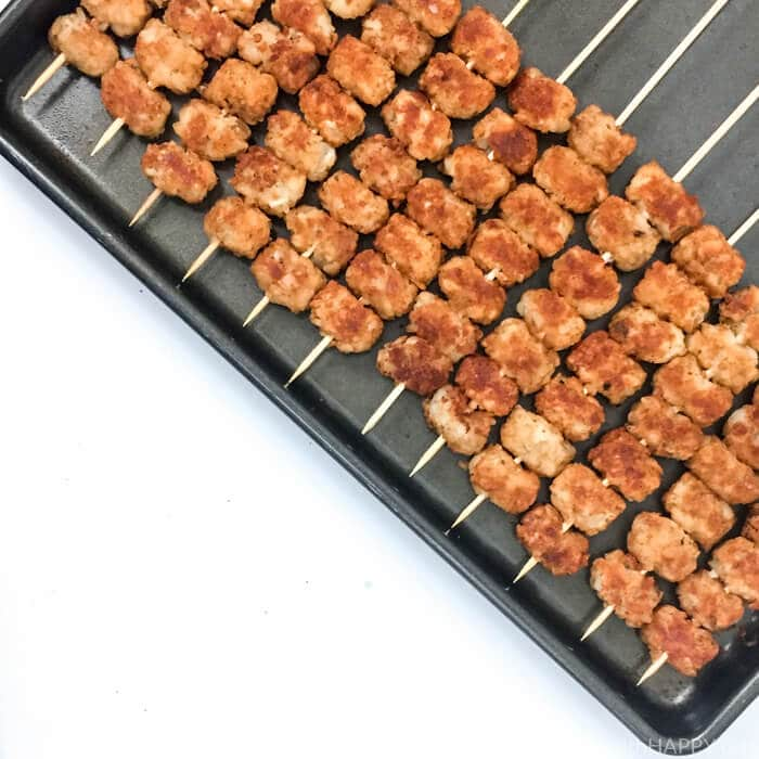 skewered tater tots