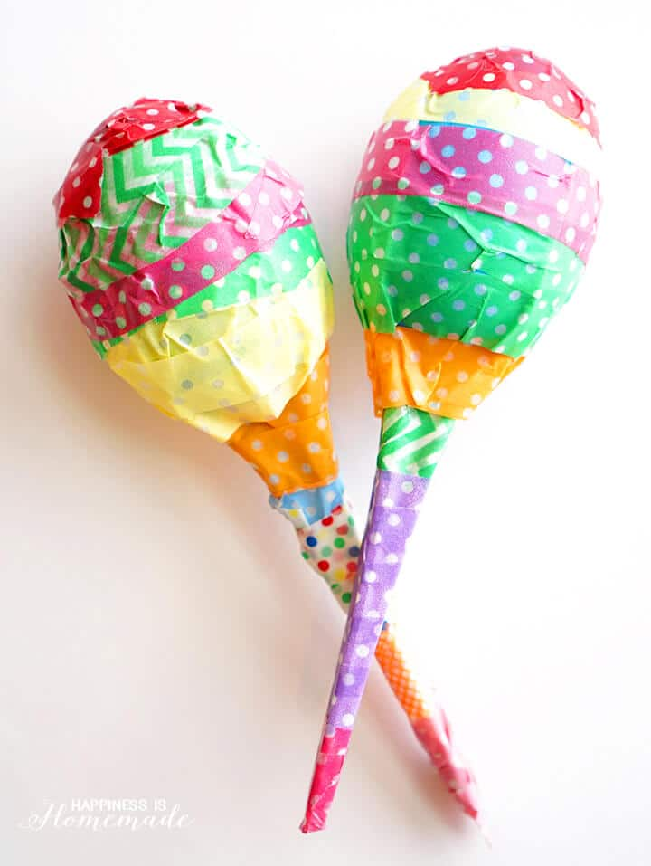 Plastic-Egg-Maracas-Kids-Craft-Project-Kids- Crafts -From -Around -the- World-Week- 5
