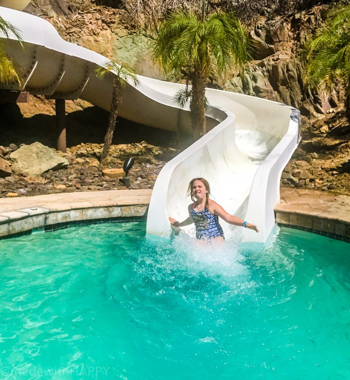 Hotels with water slides in Phoenix Arizona. Fun things to do in Phoenix Arizona. Phoenix Arizona Attractions. Spring Break Road Trip from San Diego to Phoenix. Fun Stops from California to Arizona.