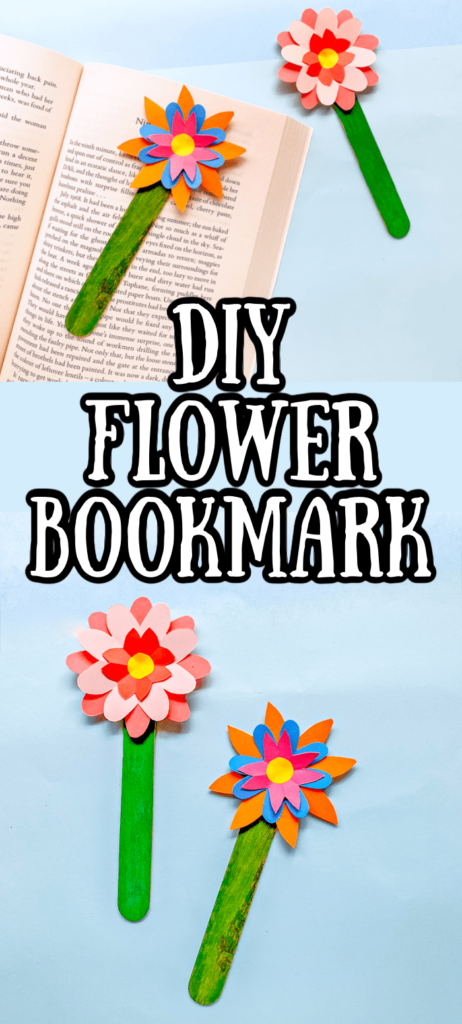 DIY Flower Bookmark