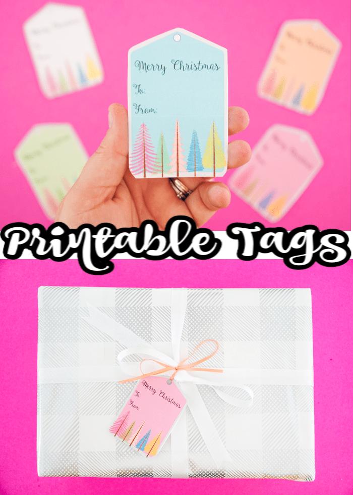 printable holiday tags