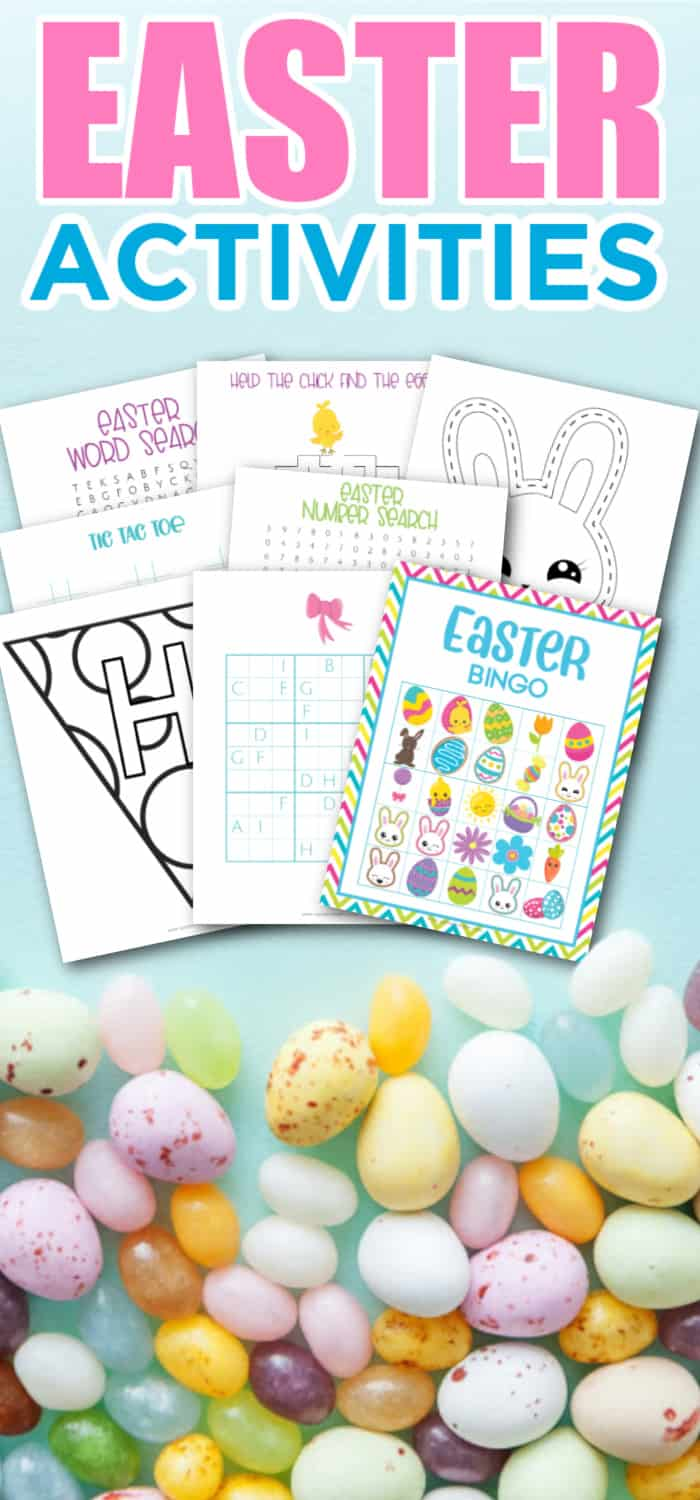 Printable Easter Activity Set