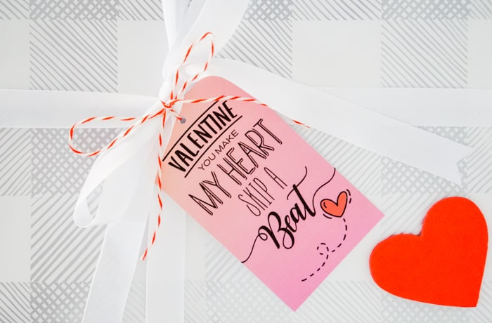 Valentines Gift Tag Printables