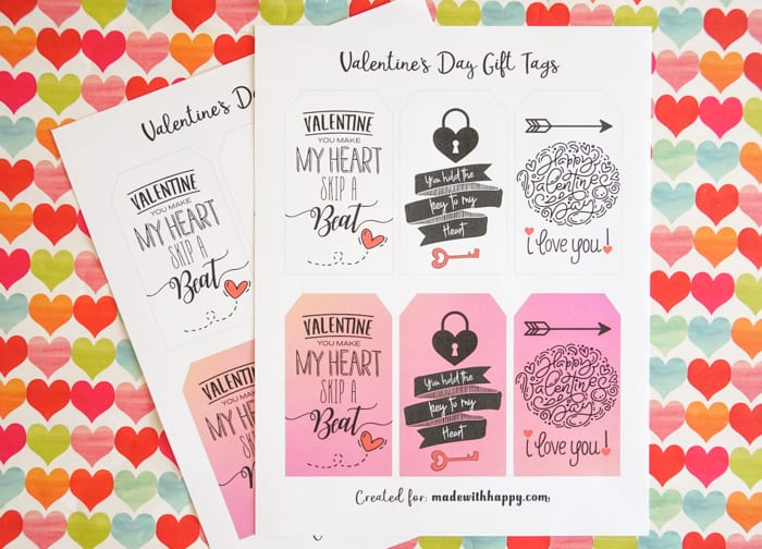 Gift Tags for Valentines
