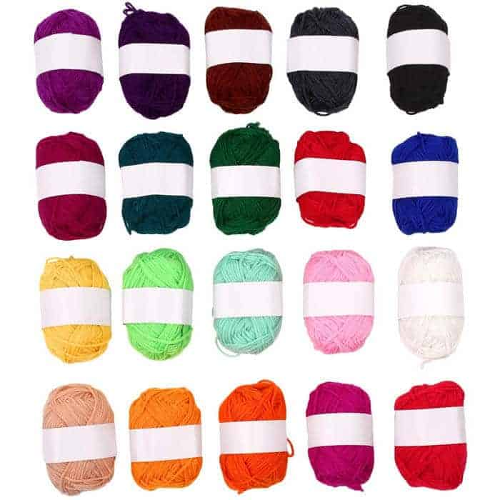 Rainbow Yarn | Rainbow Craft Supplies | Colorful Kids Crafts | All the craft supplies you need to keep you and your kids occupied for hours and hours. | Rainbow Popsicles, Rainbow Cupcake Wrappers, Rainbow Pom poms and more | www.madewithhappy.com