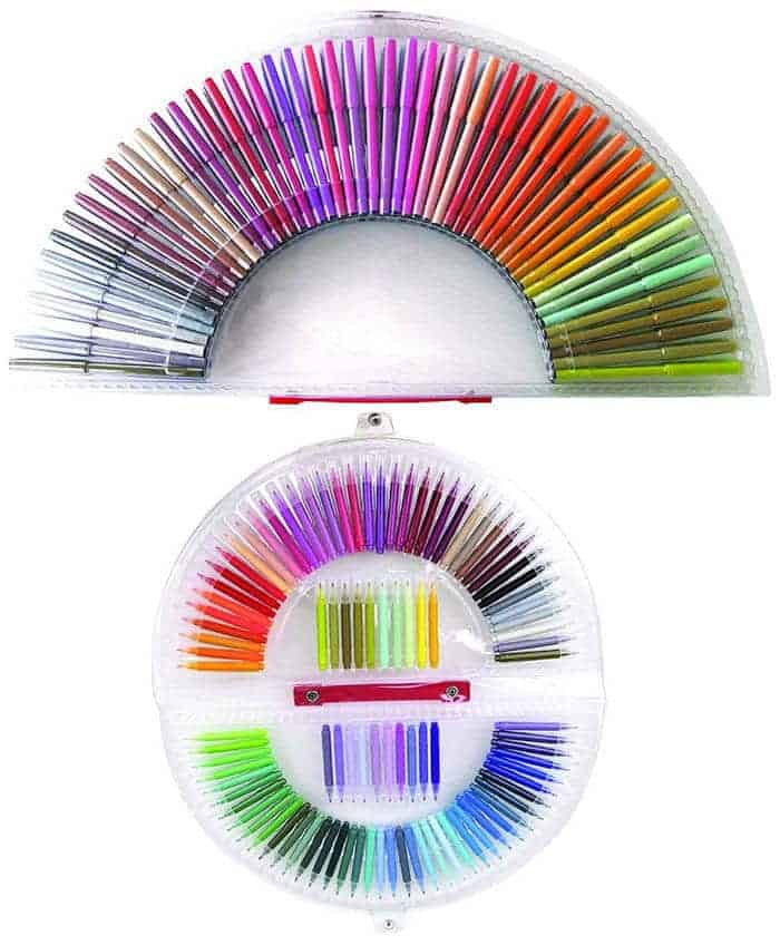 Rainbow Markers | Rainbow Craft Supplies | Colorful Kids Crafts | All the craft supplies you need to keep you and your kids occupied for hours and hours. | Rainbow Popsicles, Rainbow Cupcake Wrappers, Rainbow Pom poms and more | www.madewithhappy.com