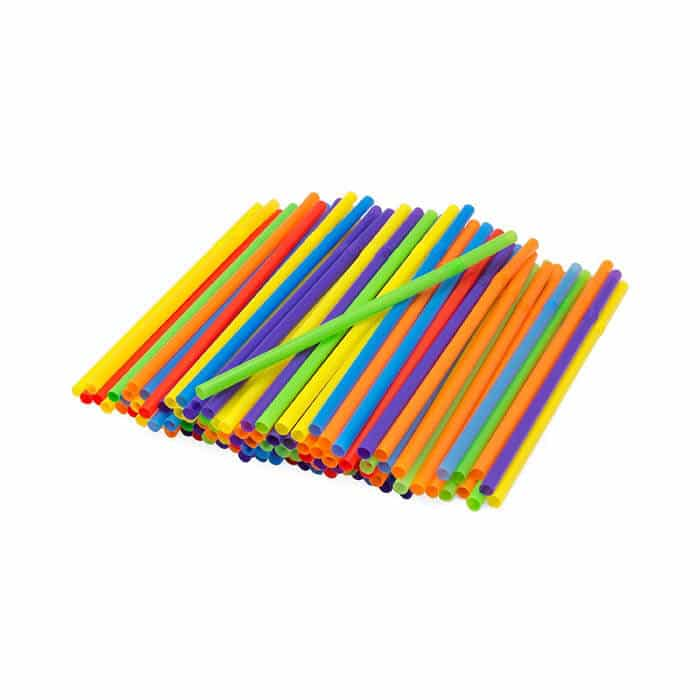 Rainbow Straws | Rainbow Craft Supplies | Colorful Kids Crafts | All the craft supplies you need to keep you and your kids occupied for hours and hours. | Rainbow Popsicles, Rainbow Cupcake Wrappers, Rainbow Pom poms and more | www.madewithhappy.com