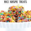 The Best Rice Krispie Treats You Will Ever Have