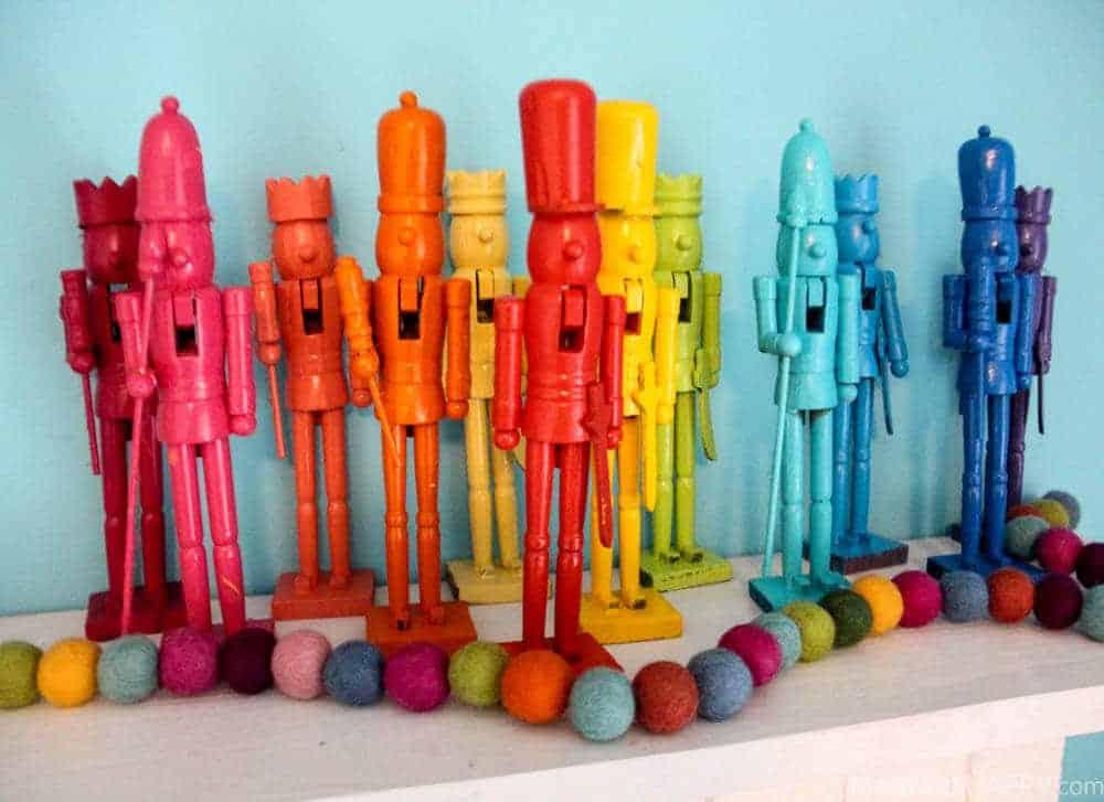 Rainbow Nutcrakcers