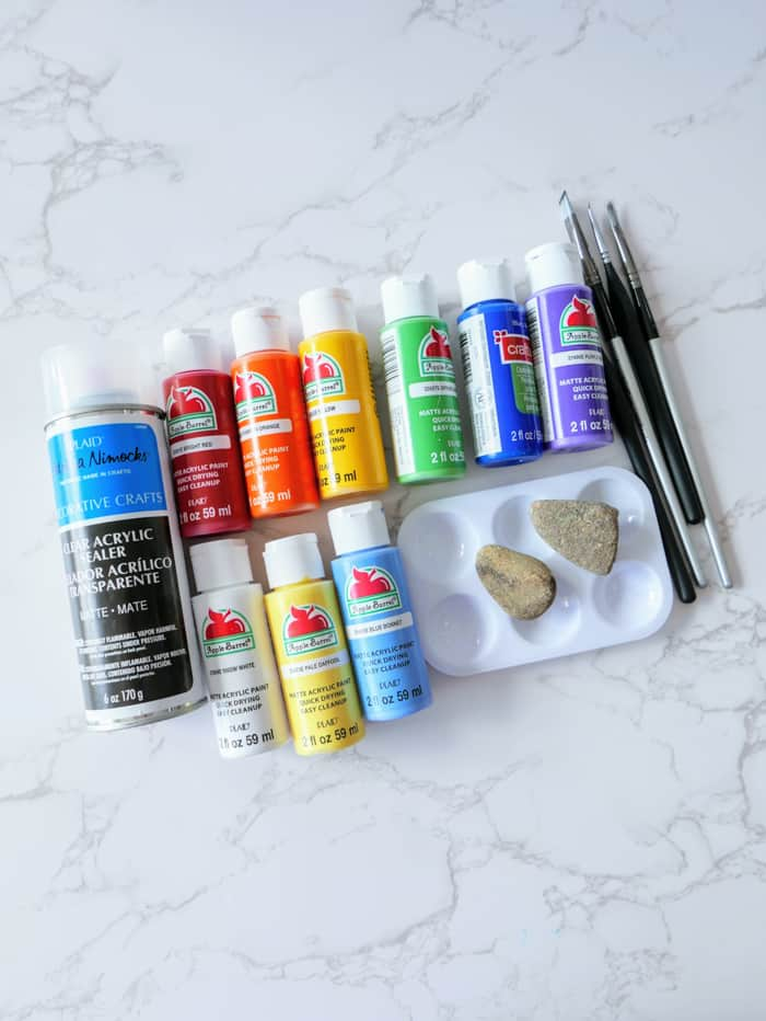 Painted Rock Supplies