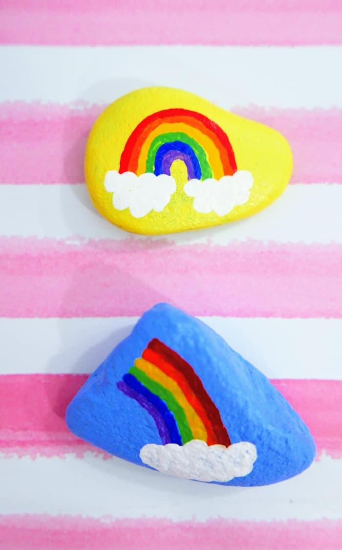 Painting Rocks Craft