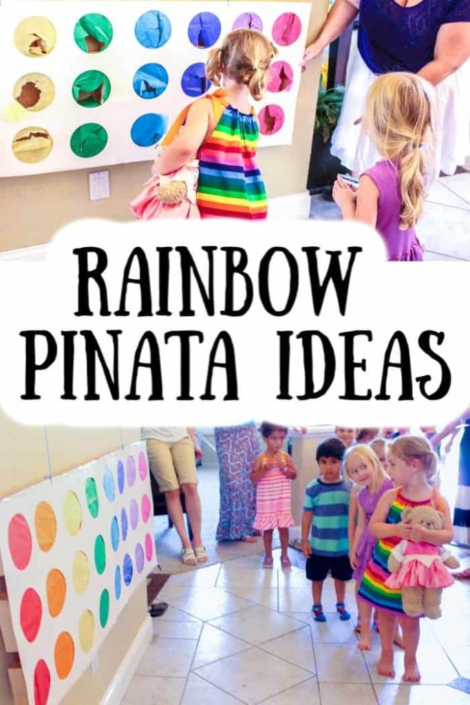 Rainbow Pinata Ideas