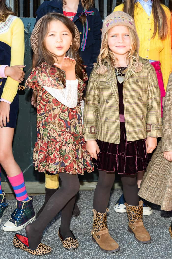 Ralph Lauren Fall and Winter Children's Collection 1