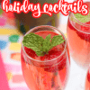 Prosecco Holiday Cocktail Recipe