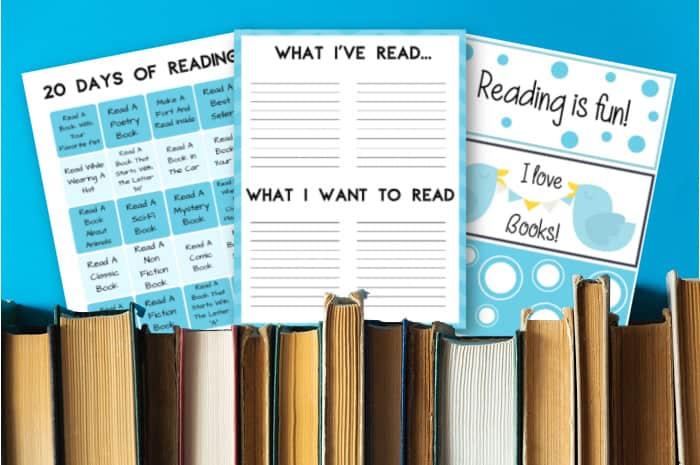 Reading Log For Kids