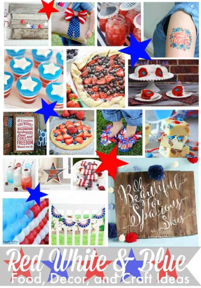 Red, White and Blue Paper Lanterns   Kids 4th of July Crafts   Patriotic Party Decor   Kids Summer Activities   DIY Paper Lanterns   www.madewithHAPPY.com