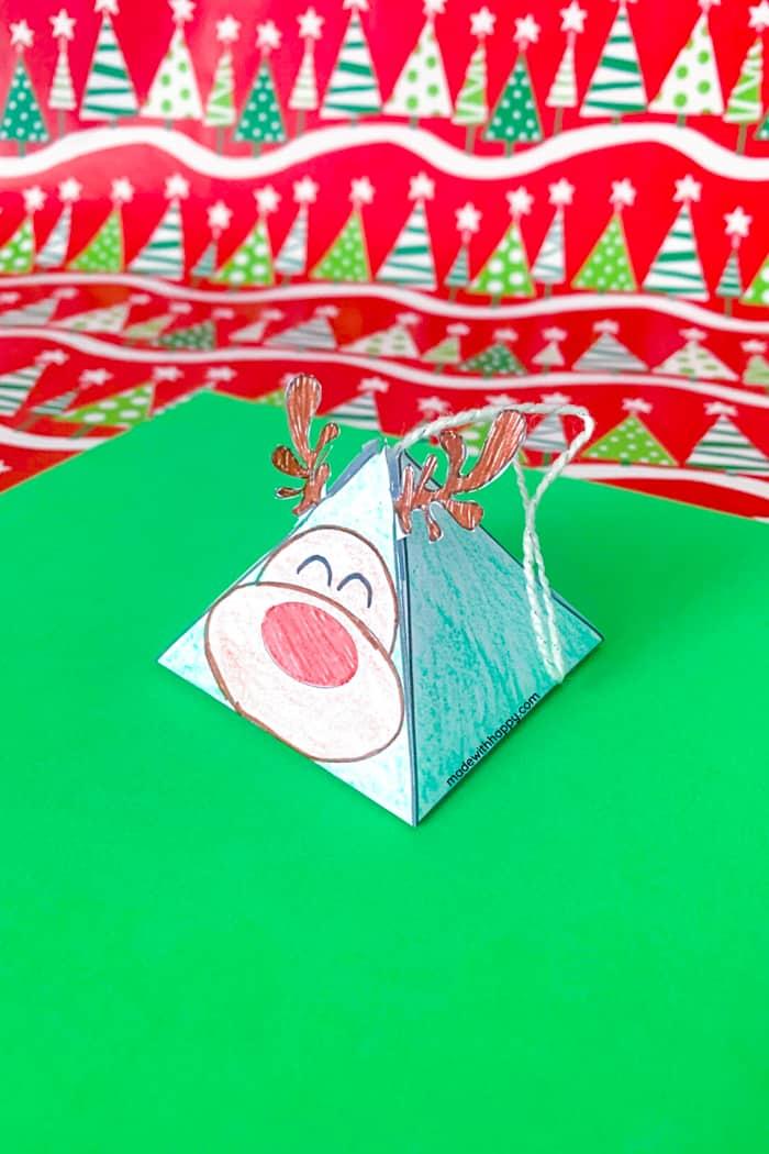 fun Christmas ornament printable