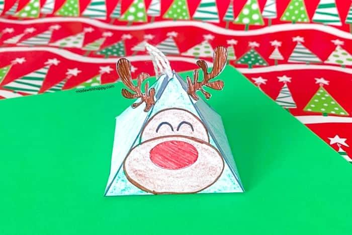 Kids printable ornament