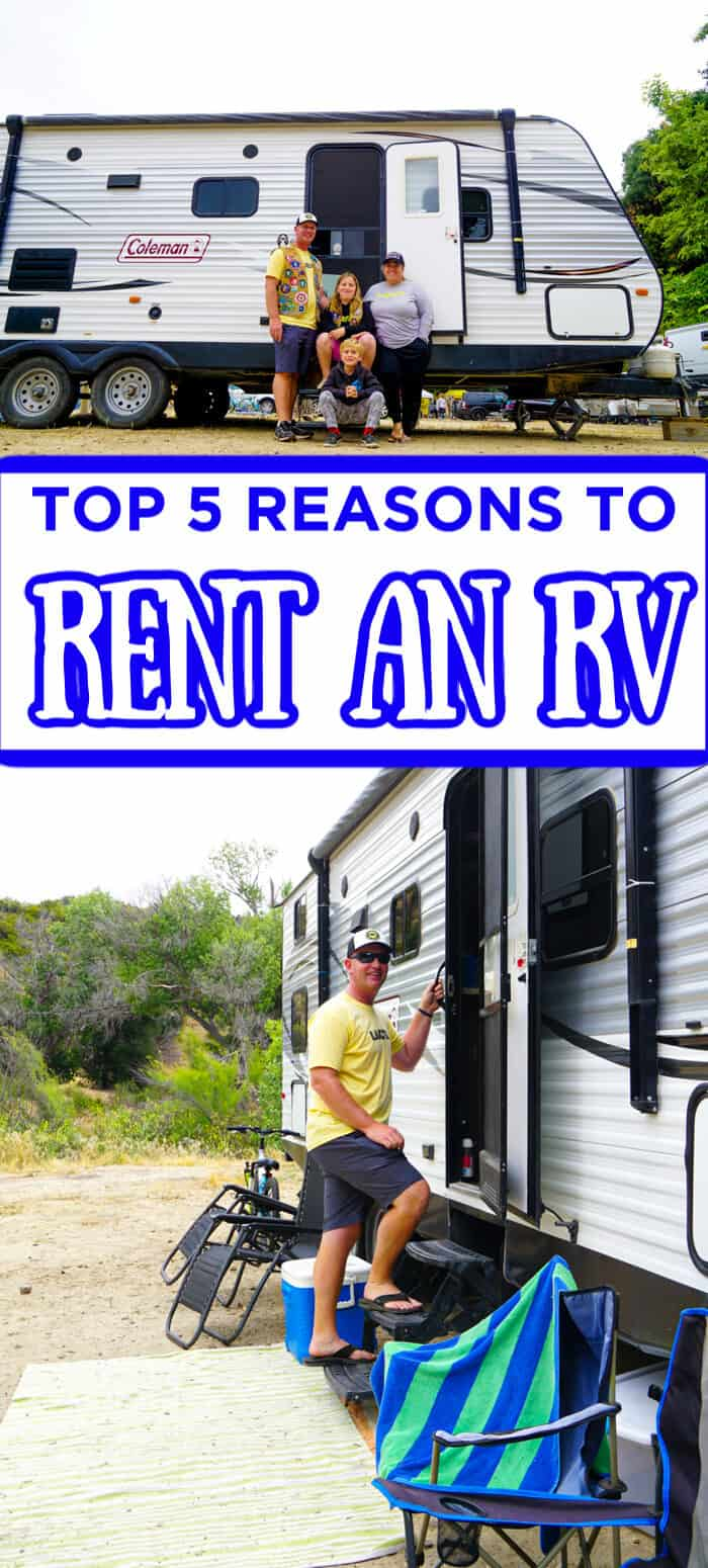 Top 5 Reasons To Rent an RV