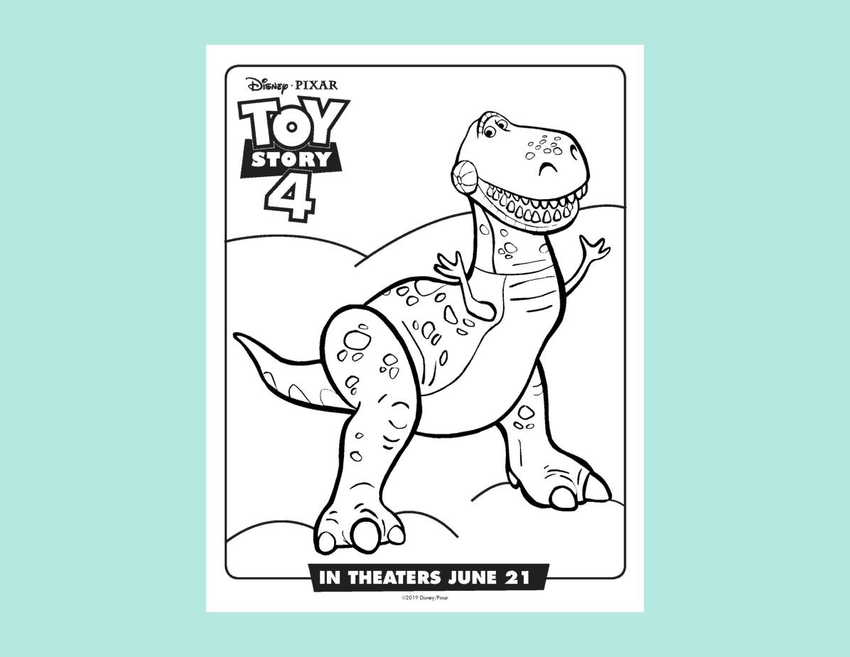 Toy Story 4 Rex