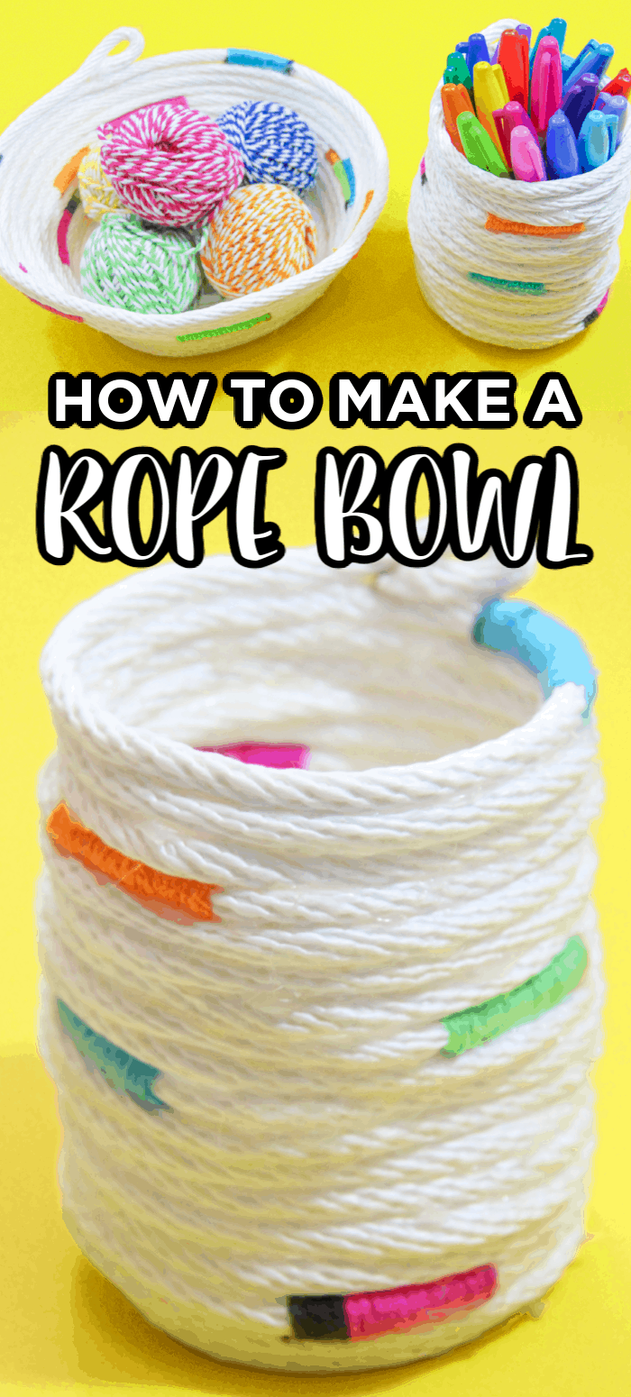 Rope Bowl September Craft For Kids